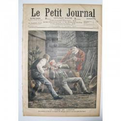 Le Petit Journal 1909 N° 856 le Crime de Langon