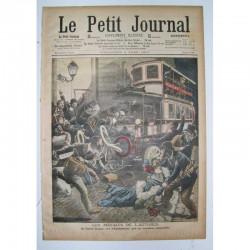 Le Petit Journal 1909 N° 863 les Méfaits de l Autobus