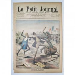 Le Petit Journal 1909 N° 864 la crise Viticole