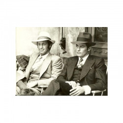 photo originale de A. Delon et J.P Belmondo ( AFT )