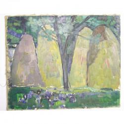 Huile sur toile original de Todorovitch