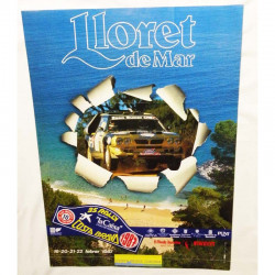 Affiche officile du Rallye costa Brava 1987 ( 51 )