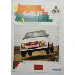 Affiche officile du Rallye du Portugal 1987 ( 60 )