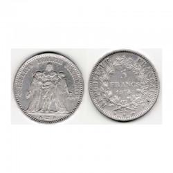 5 francs Hercule 1874 K argent ( 003 )