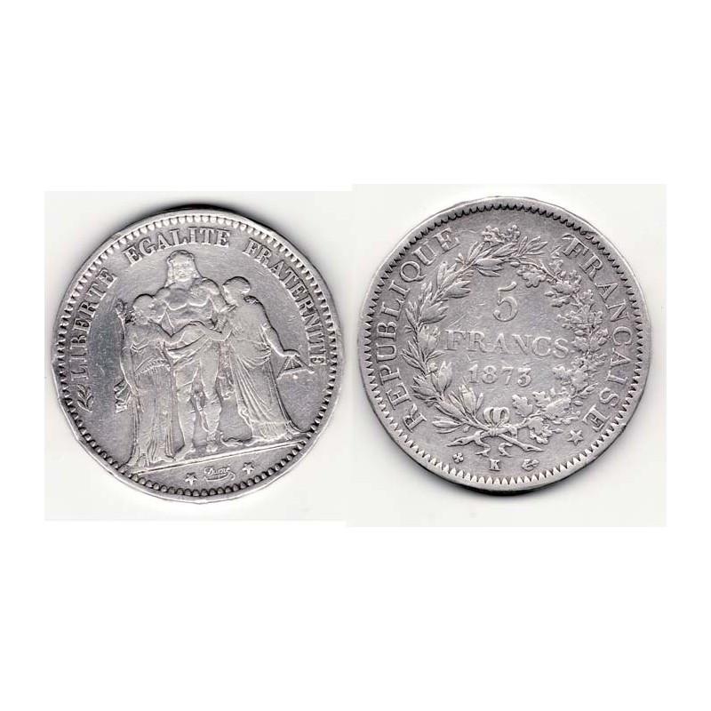 5 francs Hercule 1873 K argent ( 003 )