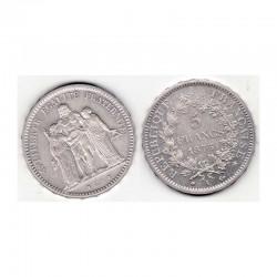 5 francs Hercule 1873 A argent ( 005 )