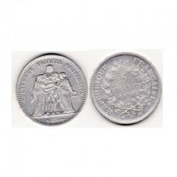 5 francs Hercule 1876 A argent ( 003 )