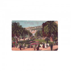CPA Monaco les jardins du Casino ( 50 )