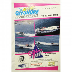 Affiche officielle course de Offshore de Nice ( 58 )