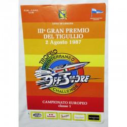 Affiche officielle Gran Premio del Tigullio 1987 ( 47 )