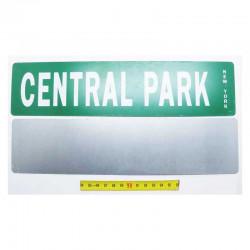 Plaque de rue USA - Central Park