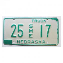 Plaque d Immatriculation USA - Nebraska  ( 1163 )