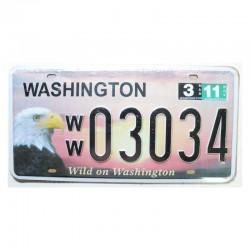 Plaque d Immatriculation USA -Washington ( Rep - 082 )