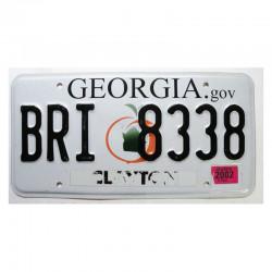 Plaque d Immatriculation USA - Georgia ( 1178 )