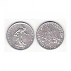 1 franc semeuse 1912 argent ( 001 )