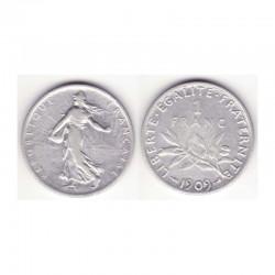 1 franc semeuse 1909 argent ( 001 )