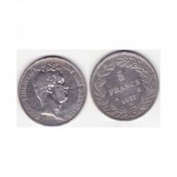 5 francs Louis Philippe 1832 A Argent ( 002 )