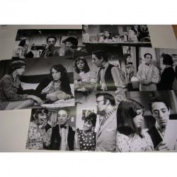 lot de 7 photos originales du film :l amour c est gai , l amour.