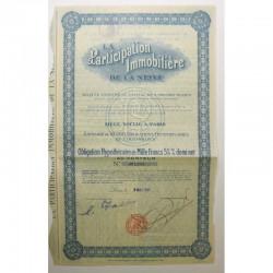Obligation Ancienne : la participation immobiliere de la seine ( 212  )