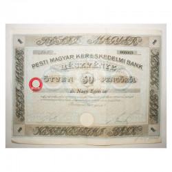 Action Ancienne : pesti magyar kereskedelmi bank  ( 275  )