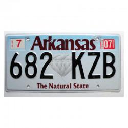 Plaque d Immatriculation USA - Arkansas (1185)