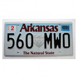 Plaque d Immatriculation USA - Arkansas (1186)